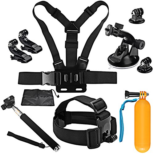 Shoot Outdoor Travel Accessories Kit Head Chest Strap