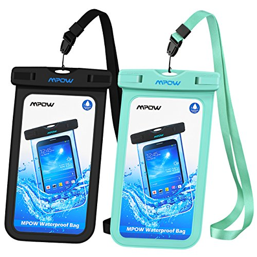 promo code 34bd5 1d1c7 Waterproof Case, Mpow IPX 8 Rated Cellphone Dry Bag, Durable Waterproof  Underwater Case Compatible with iPhone X/8/7/7 Plus,6/6s,5/5s Plus Home  Button ...