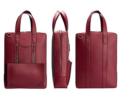 b61a3a4a169b Estarer Women Laptop Bag 15.6 inch Office Briefcase PU Leather Work Satchel  Handbag