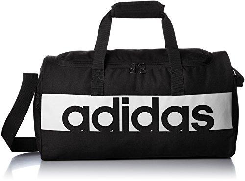 adidas Linear Performance Duffel Bag Large - Black Black White e0b580a416095